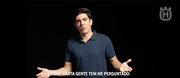 e21 lança campanha de Husqvarna com Marcelo Adnet.