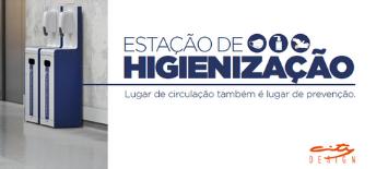 Estação Higienizadora: The Placemakers lança solução contra a disseminação da Covid-19 com campanha digital da e21
