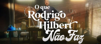 Rodrigo Hilbert é a estrela da campanha e21 para o robô cortador de grama da Husqvarna