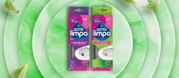 Gota Limpa inicia o segundo semestre do ano lançando gel adesivo em campanha de marketing desenvolvida pela e21