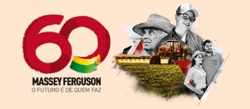 Massey Ferguson e e21 lançam campanha para promover os 60 anos da marca no Brasil